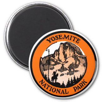 1910 Yosemite National Park Magnet