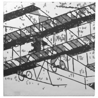1910inaviation-farman3biplane-losangeles napkin