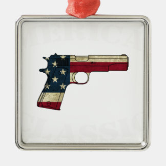 1911 CLASSIC WHITE.png Metal Ornament