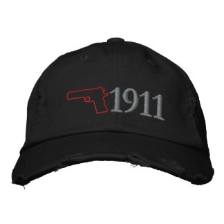 1911 Hat Embroidered Baseball Caps