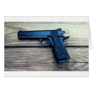 1911 Pistol Card