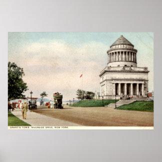 1912 Grant's Tomb, Riverside Drive, New York City Poster