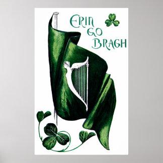 1912 Ireland Forever Poster