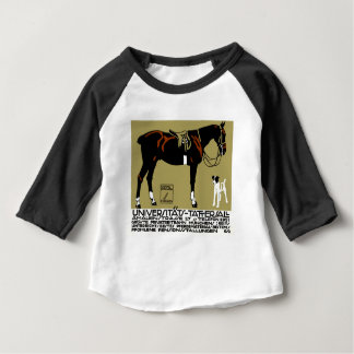1912 Ludwig Hohlwein Horse Riding Poster Art Baby T-Shirt