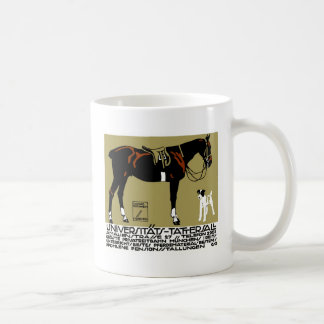 1912 Ludwig Hohlwein Horse Riding Poster Art Coffee Mug