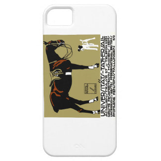 1912 Ludwig Hohlwein Horse Riding Poster Art iPhone 5 Case