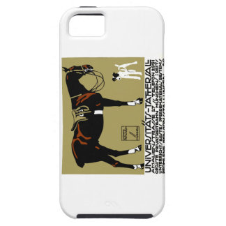 1912 Ludwig Hohlwein Horse Riding Poster Art iPhone 5 Cases