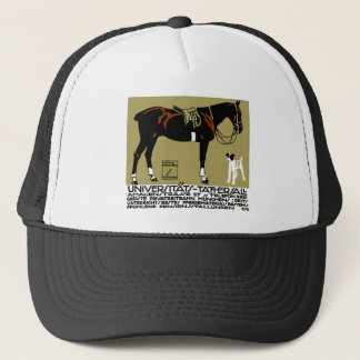 1912 Ludwig Hohlwein Horse Riding Poster Art Trucker Hat