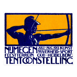 1912 Nijmegen Sports Postcard