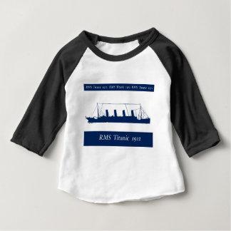 1912 Titanic 3 Baby T-Shirt