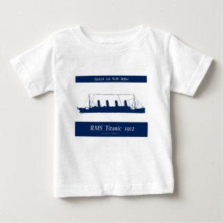 1912 titanic 4 baby T-Shirt