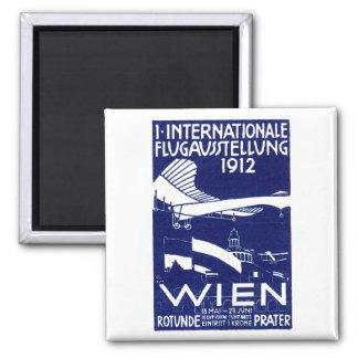 1912 Vienna Air Show Poster Magnet