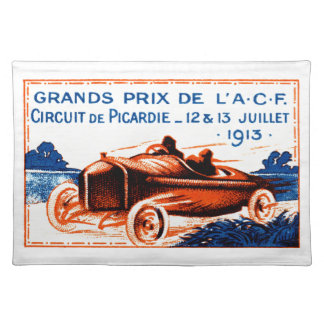 1913 Grand Prix Placemat
