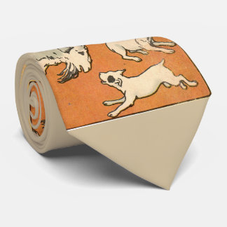 1914 billygoat and dogs tie