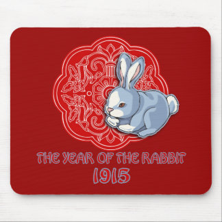 1915 The Year of the Rabbit Gifts Mouse Pad