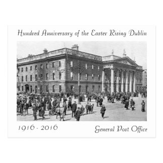 1916 Easter Rising images for postcard