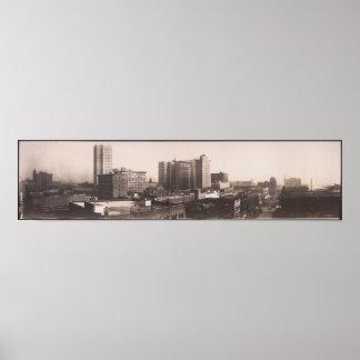 1916 Panoramic View, Birmingham AL Yard Long Photo Poster