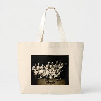 1917 Baseball Team Jumbo Tote Bag