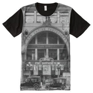 1917 Detroit featuring Empire Theatre All-Over-Print T-Shirt