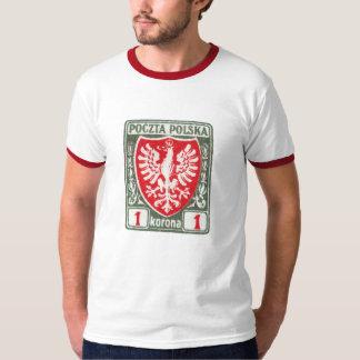 1919 1k Polish Eagle Stamp T-Shirt