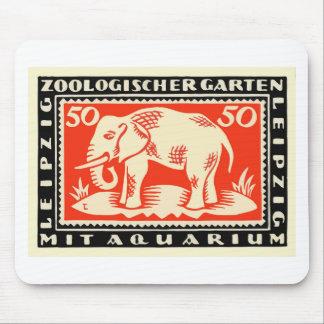 1919 Germany Leipzig Zoo Notgeld Banknote Mouse Pad