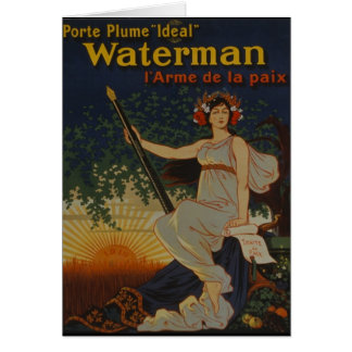 1919-Porte Plume Ideal Card