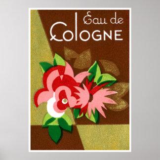 1920 Eau de Cologne perfume Poster