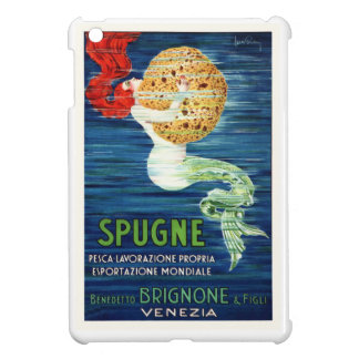 1920 Italian Mermaid With Sponge Advertising Poste iPad Mini Covers