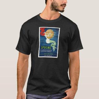1920 Italian Mermaid With Sponge Advertising Poste T-Shirt