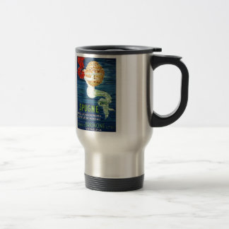 1920 Italian Mermaid With Sponge Advertising Poste Travel Mug
