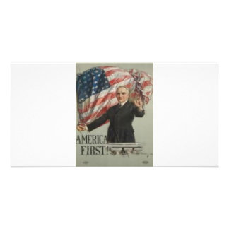 1920 Presidential Campaign Photo Greeting Card