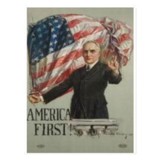 1920 Presidential Campaign Postcard