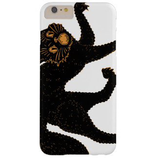 1920 Scary Black Cat Barely There iPhone 6 Plus Case