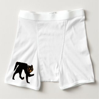 1920 Scary Black Cat Boxer Briefs
