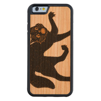 1920 Scary Black Cat Cherry iPhone 6 Bumper