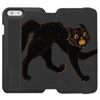 1920 Scary Black Cat Incipio Watson™ iPhone 6 Wallet Case