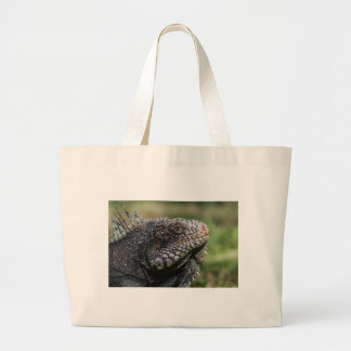 1920px-Iguanidae_head_from_Venezuela Large Tote Bag