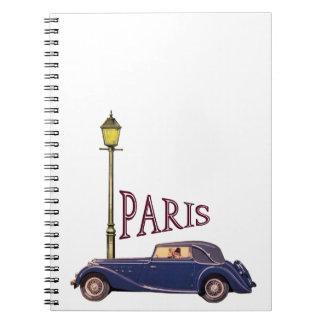 1920's Automobile - Paris Notebooks