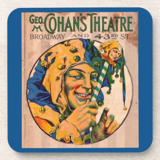 1920s Cohan's Theatre playbill cover Coaster