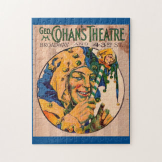 1920s Cohan's Theatre playbill cover Jigsaw Puzzle