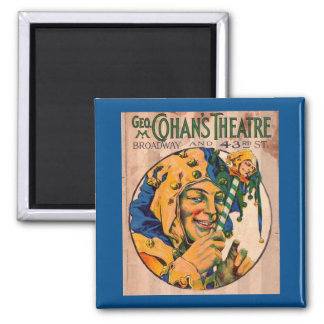 1920s Cohan's Theatre playbill cover Magnet