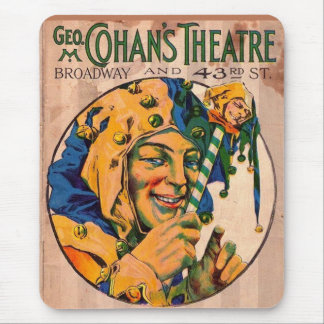 1920s Cohan's Theatre playbill cover Mouse Pad