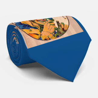 1920s Cohan's Theatre playbill cover Tie