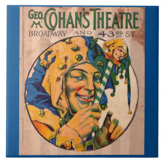 1920s Cohan's Theatre playbill cover Tile