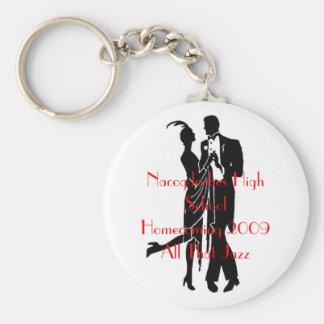 1920's couple, Nacogdoches High SchoolHomecomin... Keychain