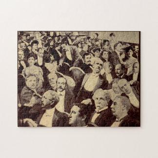 1920s crowd scene jigsaw puzzle