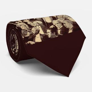 1920s crowd scene tie