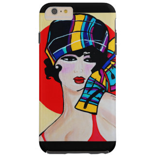 1920'S FLAPPER  GIRL TOUGH iPhone 6 PLUS CASE