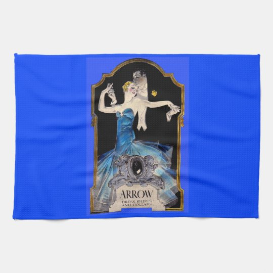 1920s Leyendecker Arrow shirt ad no. 1 Hand Towels