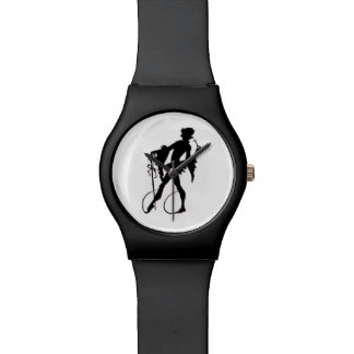 1920s magician silhouette watch